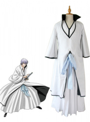 Bleach Gin Ichimaru Arrancar Cosplay Costume