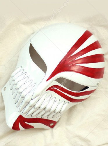 Bleach Ichigo Kurosaki Full Cosplay Hollow Mask
