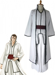 Bleach Sosuke Aizen Arrancar Cosplay Costume