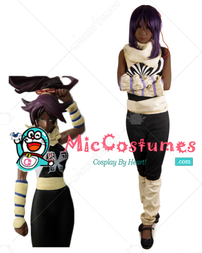 Bleach Yoruichi Shihouin Cosplay Costume
