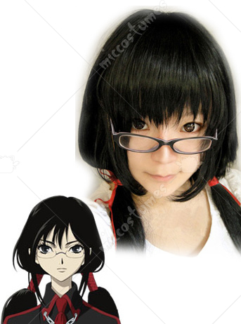 Blood-C Saya Kisaragi Cosplay Wig