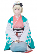 Blue Exorcist Moriyama Shiemi Cosplay Kimono
