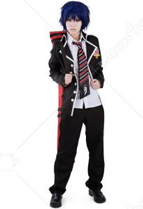 Blue Exorcist Rin Okumura Cosplay Costume School Uniform