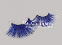 Blue False Eyelashes For Loli Vixen Cosplay