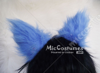 Blue Fire Hair Clip For Blue Exorcist Okumura Rin Cosplay