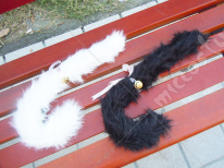 Bow Bell Cat Tail