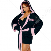 Boxer Girl Adult Plus Costume