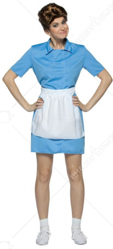 Brady Bunch Alice Adult Costume