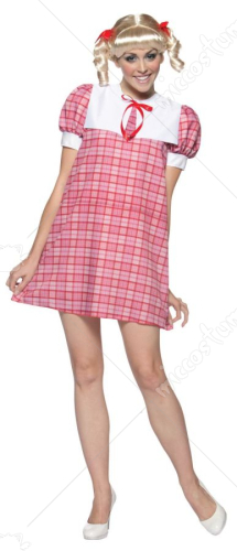 Brady Bunch Cindy Adult Costume
