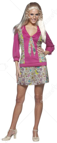 Brady Bunch Jan Brady Adult Costume