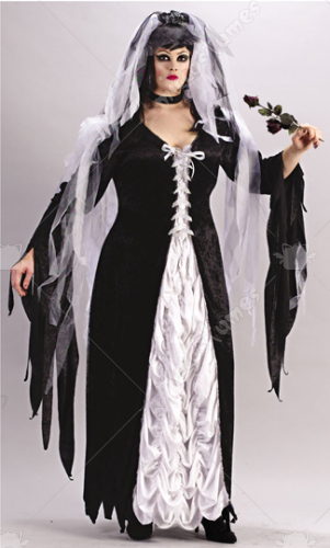 Bride Of Darkness Plus Size Costume