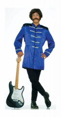 British Explosion Blue Adult Costume