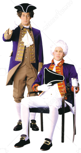 British Rev Officer Adult Costume