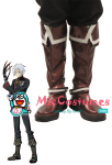 Bronze with white straps D Gray Man Allen Walker Cosplay Shoes B