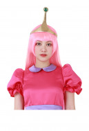 Adventure Time Princess Bubblegum Long Pink Wig