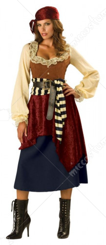 Buccaneer Beauty Costume
