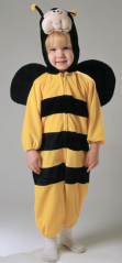 Plush Buzzy The Bee Child Costume