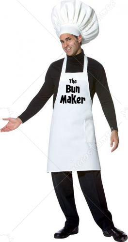 Bun Maker Adult Costume
