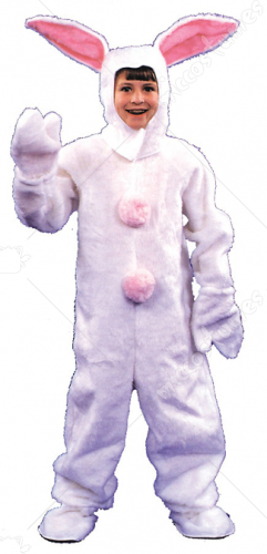 Bunny Suit Child White Costume