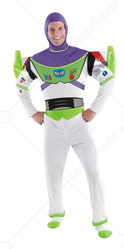 Buzz Lightyear Deluxe Plus Size Adult Costume