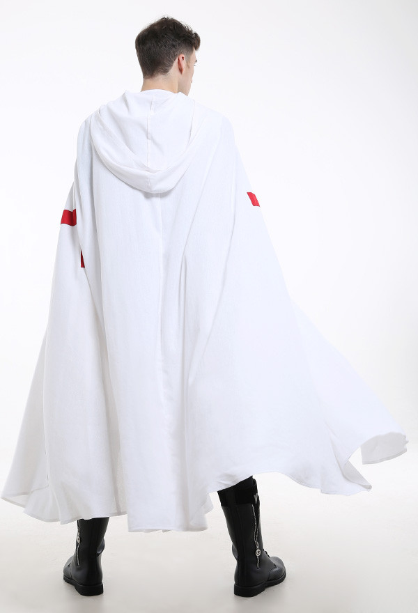 Mittelalter Templar Tabard Männer Weste Cosplay Kostüm mit Umahng