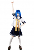 Lucky Star Konata Izumi Summer Uniform Cosplay Costume