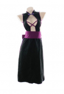 Open Chest Hollow Sexy Lingerie Set Chinese Cheongsam Style Backless Split Dress