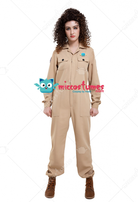 Ghost-catching Uniform Cargo Jumpsuits Cosplay Costume for Men and Women