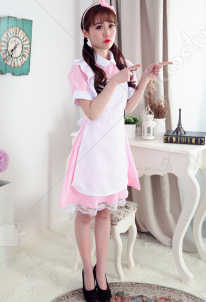 Alice in Wonderland Alice Cute Maid Cosplay Costume Performance Costume