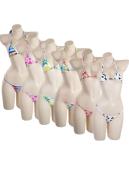 Two Piece Bikini Set Neck Halter Swimwear Cute Swimsuit for Summer