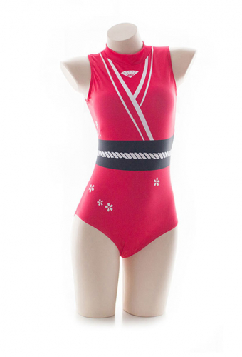 The King of Fighters Mai Shiranui Swimwear One Piece Swimsuit Cosplay Costume