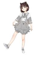 My Neighbor Totoro Suit Japanese Style Cute Girl Summer Suit
