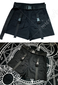 Japanese Style Beach Shorts Women Cargo Pants for Summer