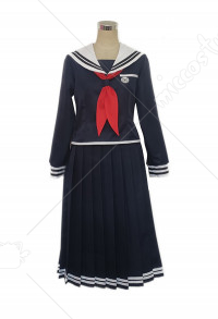 Danganronpa Touko Fukawa Cosplay Costume School Uniform Set