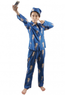 Attack on Titan Levi Pajamas Cosplay Costume