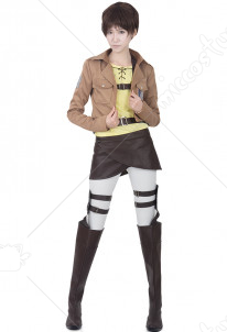 Attack on Titan Eren Yeager Cosplay Costume Jacket
