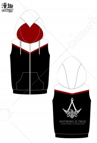 Manchy Assassin's Creed Syndicate Hooded Vest