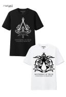 Manchy Anime Assassin Creed Short Sleeves T-shirt