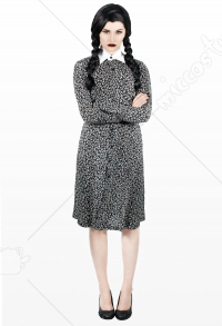 The Addams Family Wednesday Addams Cosplay Costume