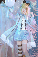 Alice in Wonderland Laser Boy Alice Cosplay Costume