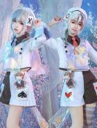 Alice in Wonderland Laser Boy Twin Tweedledee / Tweedledum Cosplay Costume