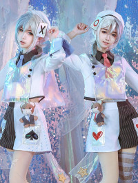Alice in Wonderland Laser Boy Twin Tweedledee / Tweedledum Cosplay Costume