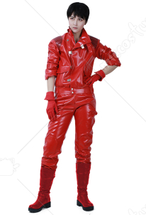 Akira Shotaro Kaneda Cosplay Costume Motorcycle Clothing Jacket