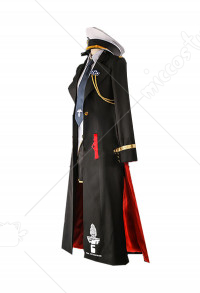 Azur Lane Enterprise Uniform Suit Cosplay Costume