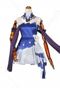 Azur Lane Costume de Cosplay Helena May I Have This Dance Robe de Cérémonie