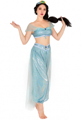 Princess of Agrabah Cosplay Costume Inspired by Princess Jasmine