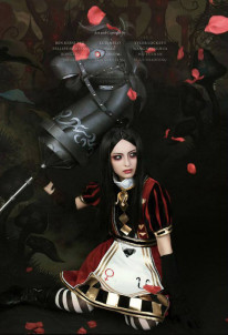 Alice: Madness Returns Royal Poker Maid Suit Dress