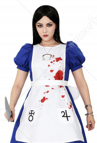 Plus Size Alice: Madness Returns Cosplay Costume Dress