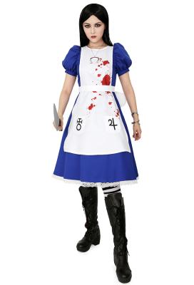 Alice: Madness Returns Cosplay Costume Dress