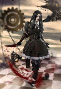 Alice Madness Returns Steampunk Cosplay Costume